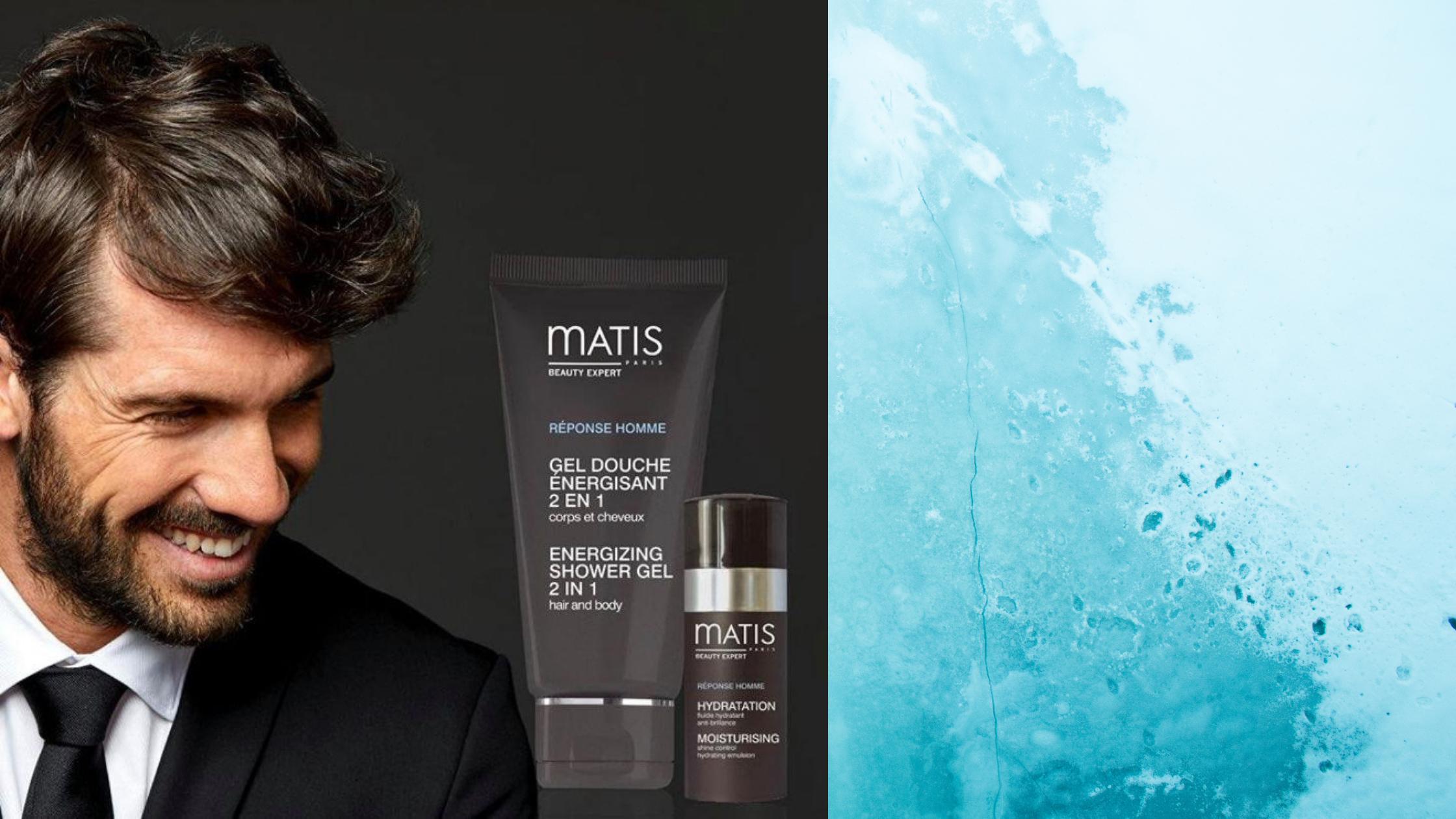 Men's skincare by Matis Paris
