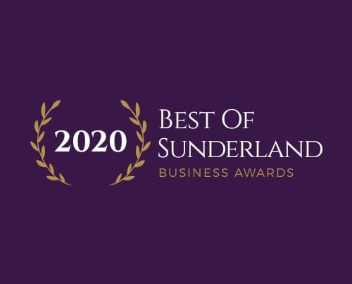 Best Customer Service Award at the 2020 Best of Sunderland Business Awards