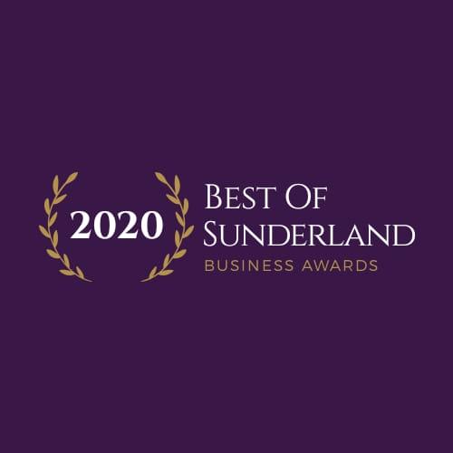 Best Customer Service Award at the 2020 Best of Sunderland Business Awards