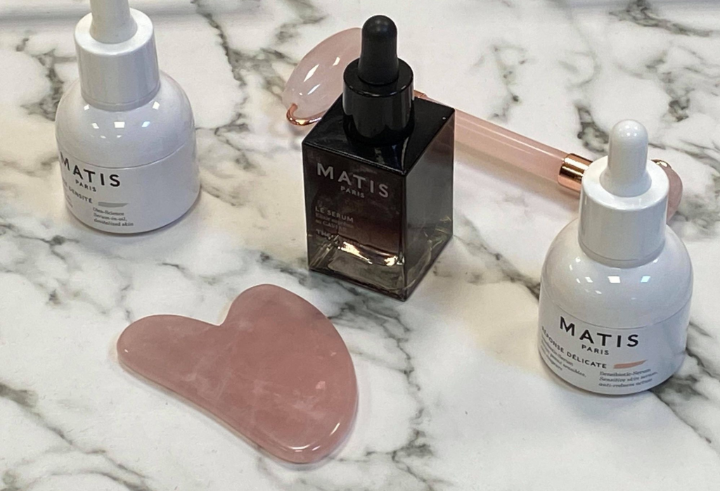 Gua Sha and the perfect Matis serum for it