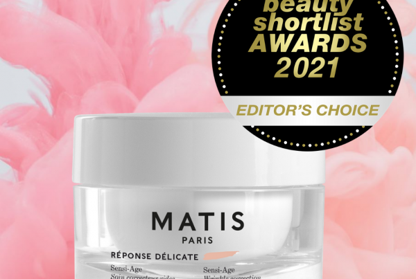 Matis Paris Sensi-Age Misturiser wins the Editor's Choice Award at the 2021 Beauty Shortlist Awards